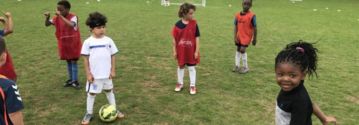Summer Holidays Soccer School 2017.