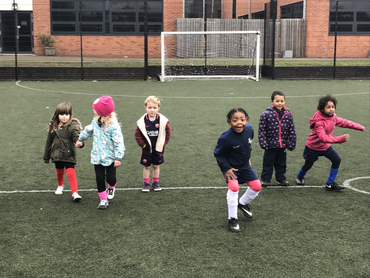 Football Tennis on the menu at the February Half Term Soccer School 2018!!!