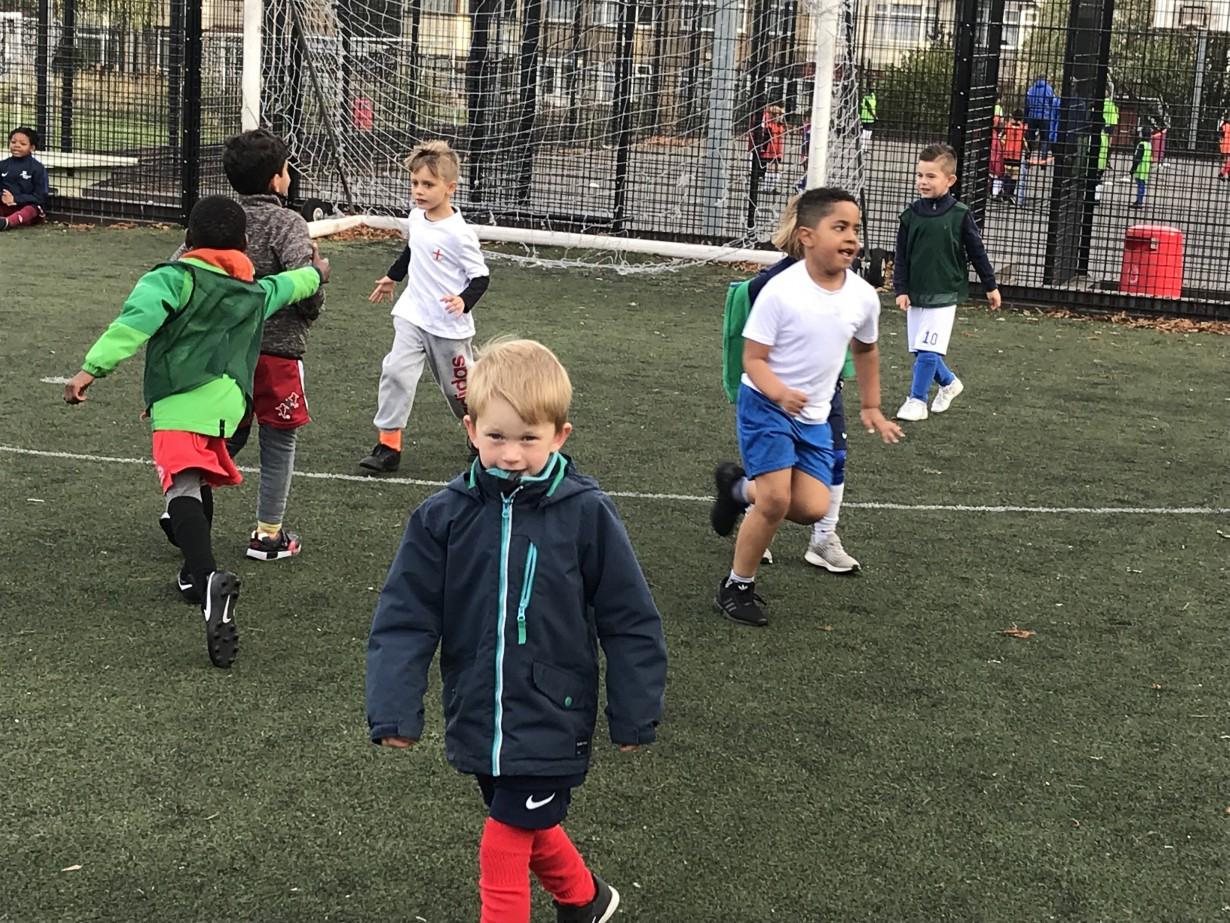 October Half Term Soccer School 2018.