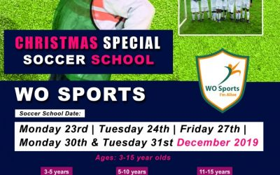 Christmas Special Soccer School 2019!