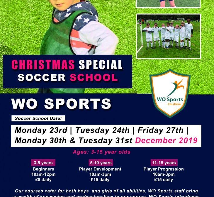 Christmas Special Soccer School 2019!