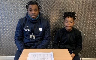 Donte Signs For Colchester United Academy.