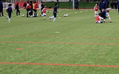 WO Sports U8 vs Arsenal