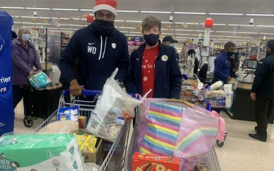 Christmas Donation From Tesco.